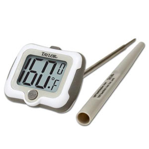 Taylor 9836 Digital Thermometer with Pivoting Head