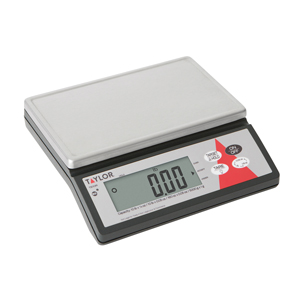 Taylor TE10R Digital Stainless Steel Portion Control Scale