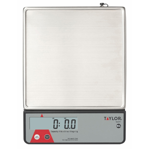 Taylor TE11FT Digital Portion Control Scale with Calibration Feature