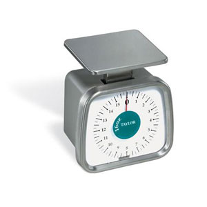 Taylor TP16 Compact Mechanical Portion Control Scale-16 oz Capacity