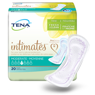 Tena 41300 Serenity Moderate Regular Pads 120/Case