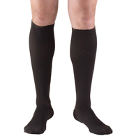 Truform 1943 Mens Knee High Dress Sock-15-20 Gradient Compression