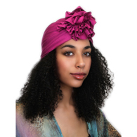 Turban Diva Designs 300 Flower Turban