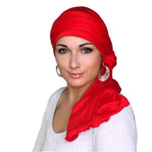 TurbanDiva 331-Jersey Jersey One Piece Turban Head Wrap