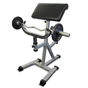 Valor Fitness CB-11 Standing Arm Curl w/ Pivot