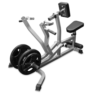 Valor Fitness CB-14 Seated Row Machine/Chest Pull w/ Independent Arms