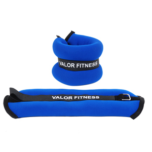 Valor Fitness EA-10 2lb Ankle/Wrist Weight Pair