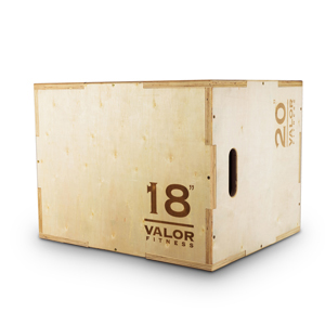 Valor Fitness PBX-B Plyo Box 18/20/24""
