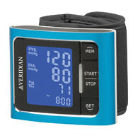Veridian 01-519 Metallic Style Wrist Blood Pressure Monitor