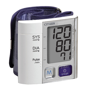 Veridian CH-657 Citizen Wrist Digital Blood Pressure Monitor