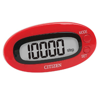 Veridian TW-310R Citizen Digital Pocket Pedometer-Red