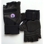 Wrist Assured Gloves (WAGs) Fusion Workout Gloves-Large