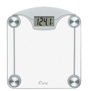 Weight Watchers WW39N Digital Glass with Chrome Weight Scale