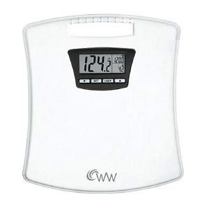 Weight Watchers WW45N Compact Tracker Scale-350 lb Capacity