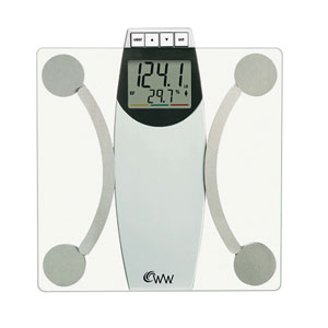 Weight Watchers WW67T Glass Body Analysis Scale