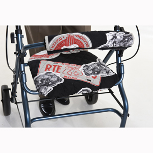 Wheelchair Solutions Rollator Seat and Handlebar Covers